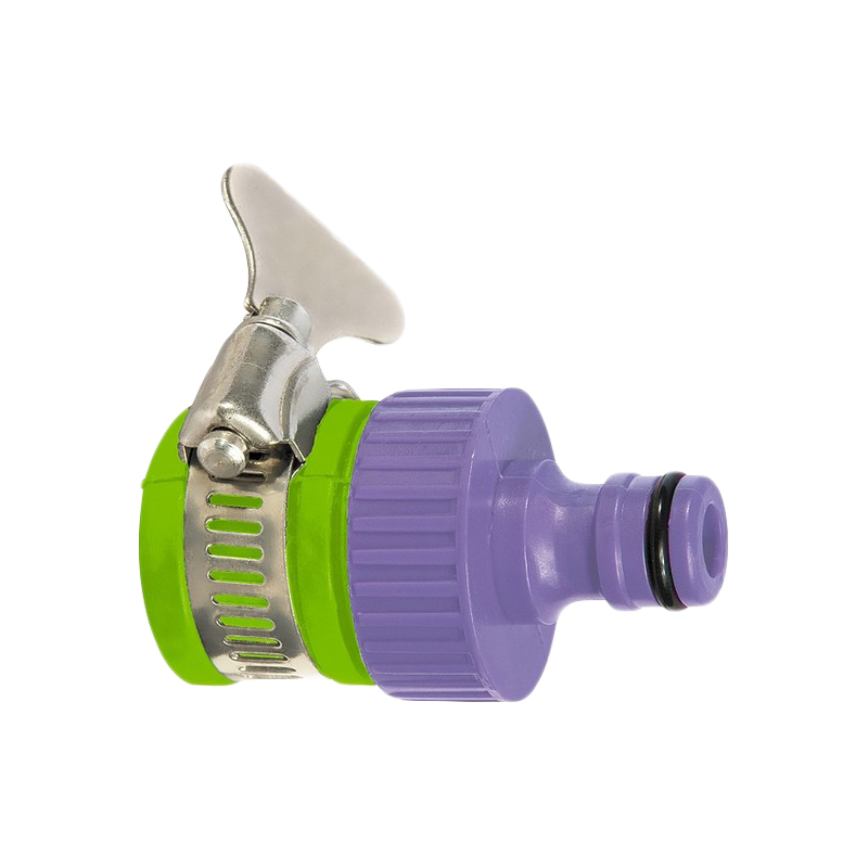 цена на Garden Water Connectors PALISAD 65760 3/4'' with an external collar Plastic adapter