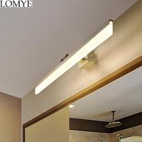 Modern Simple Mirror Wall lights for bathroom LED Wall lamp Aluminum Fixtures Wall lighting for makeup barbershop