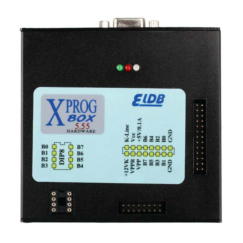 2020 Newest version <font><b>XPROG</b></font> V5.55 ECU Chip Tuning <font><b>Programmer</b></font> Auto ECU <font><b>Programmer</b></font> Car Diagnostic Tools X-PROG V5.55 Box image