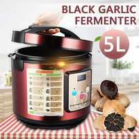 Automatic 5L Garlic Fermenter DIY Ferment Box Drying FunctionBlack Garlic Home Kitchen Appliances