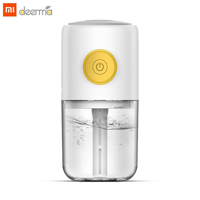 New Xiaomi Deerma Mini USB Ultrasonic Mist Humidifier Aroma Essential Oil Diffuser Aromatherapy Car Air Purifier For Office