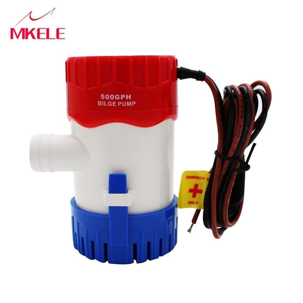 Pumpen Selbstlos Mkbp-g500-24 500gph 24 V Wasserpumpe Bilge Bump 24 V Heißer Wasser Pumpe