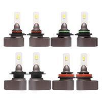 1Pair 72W 5740LM Universal IP67 LED Car Headlight Bulbs M2 Auto Headlamps Fog Lights for Car Motorcycle Ship 9005/9006/H7/H11