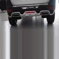 Задний диффузор Тюнинг автомобилей спереди губ декоративные Automovil автомобилей интимные аксессуары авто защитные бамперы 17 для peugeot 5008