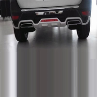 Rear Diffuser tuning Car Front Lip Decorative Automovil Automobiles Accessories Auto Bumpers protector 17 FOR Peugeot 5008