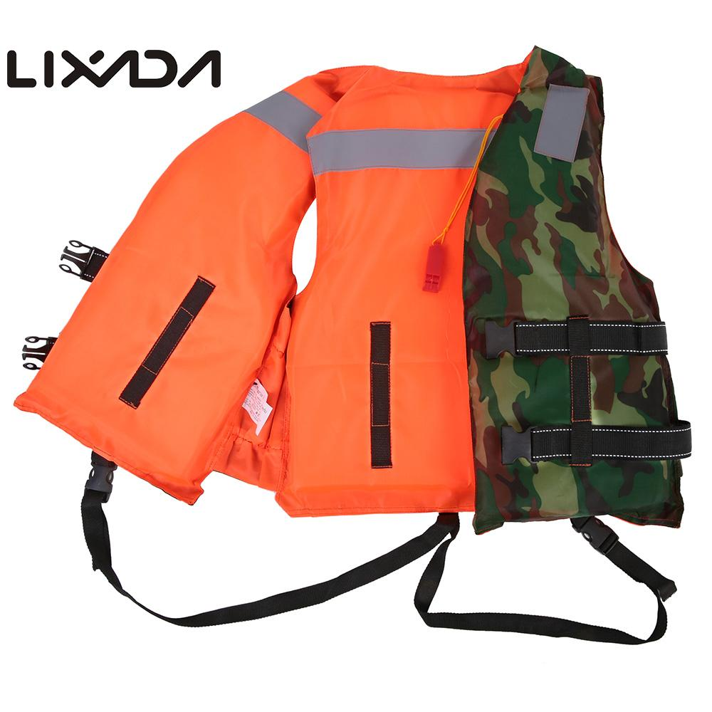 Lixada Professional Adult Men Life Jacket Buoyancy Life Vest Swimming Boating Safety Women Life Vest Floating Clothing Invigorating Blood Circulation And Stopping Pains