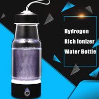 380ml Hydrogen Water Generator USB Rechargeable Intelligent Hydrogen Rich Water Bottles Alkaline Water Maker Portable Purifier