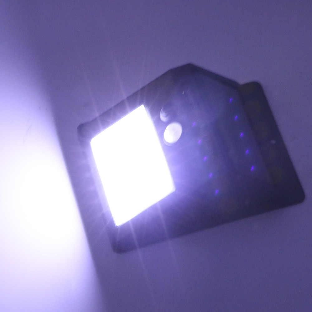 2 шт. 6 светодиодов Солнечный свет PIR датчик движения настенный светильник открытый влагозащищенный уличный Двор Путь домашний сад безопасность лампа