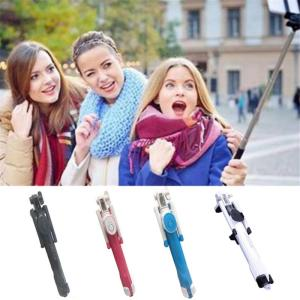 Image 4 - Mini Selfie Stick Extendable Handheld Fold Self portrait Bluetooth Holder Lightweight Travel Hiking Devices With Tripod Mount
