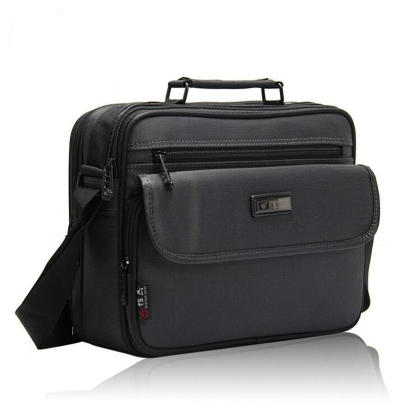 Top Quality Briefcases Of Various Sizes Men's Small Bag For IPAD Waterproof Oxford Men Business Shoulder Bag Bolso Hombre 2019