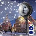 Impermeabile Ip65 In Movimento Laser Neve Lampade Del Proiettore Del Fiocco di Neve Luce Della Fase del Led Per La Festa Di Natale Ac85v-240v