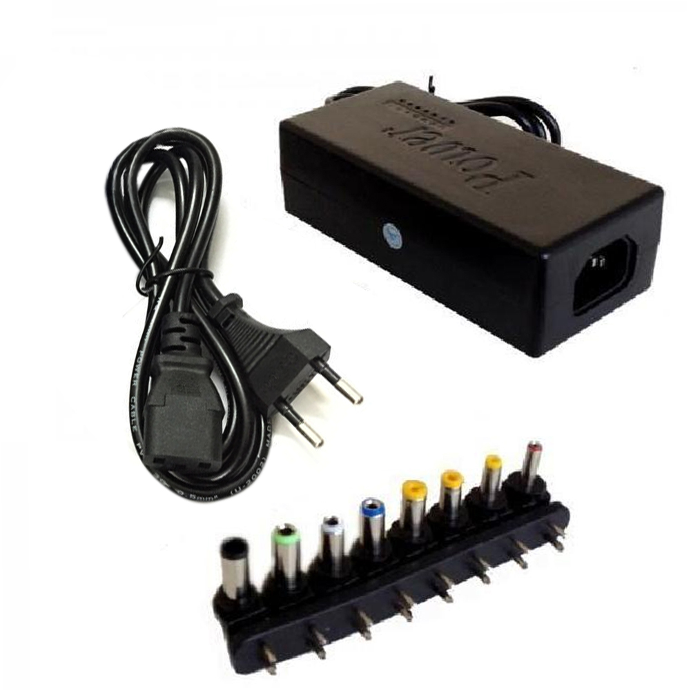 96W 12/15/16/18/19/20/24 VOLT UNIVERSAL LAPTOP POWER SUPPLY / CHARGER / ADAPTER 8-port Power Connector