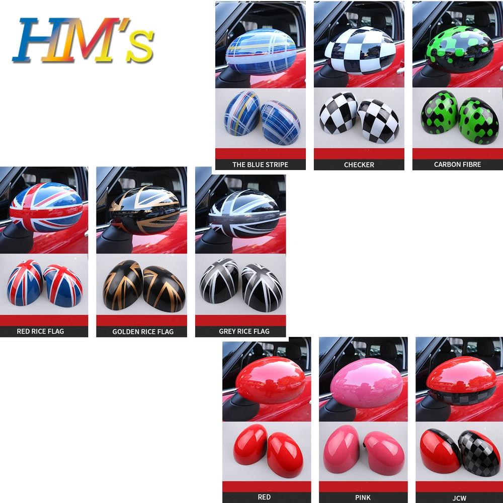 Para mini cooper r55 r56 r57 r58 r59 r60 r61 estilo do carro retrovisor espelho adesivo para mini countryman r60 acessórios