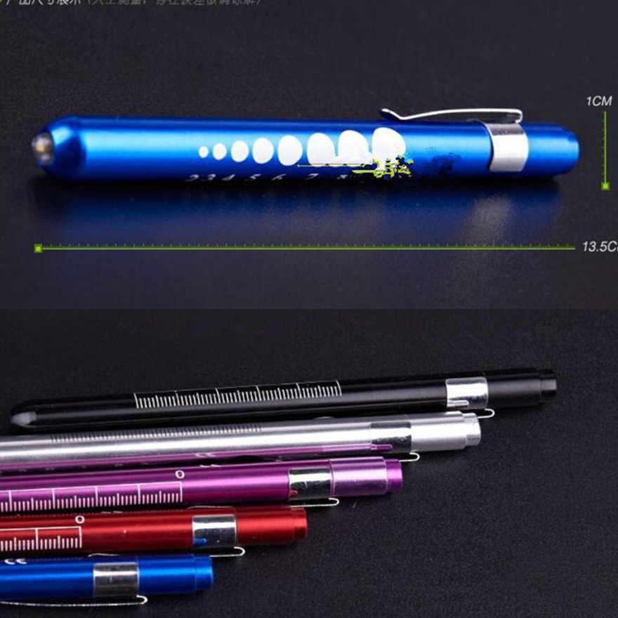 חדש שימושי כיס LED מנורה נייד USB חזק Handy פנס נטענת עט טקטי פנס חיסכון באנרגיה צבע אקראי