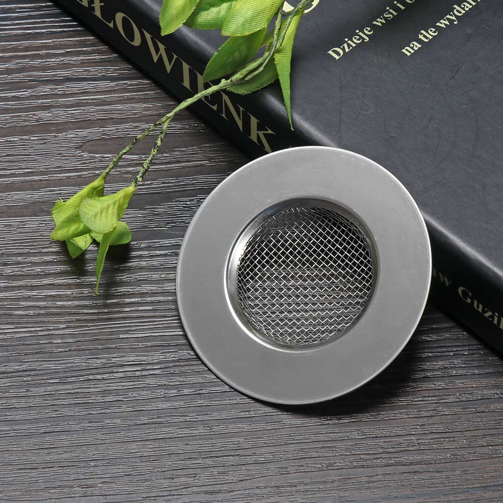 1 Pcs  Stainless Steel Sink Strainer Shower Floor Drain Bathroom Plug Trap Hair Catcher Kitchen Sink Filter Floor Cover Drainage(China)