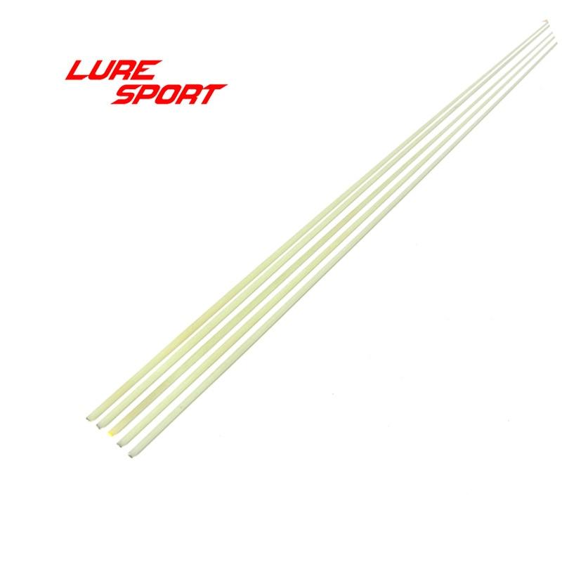 Luresport 2pcs Solid Epoxy Resin Fiber Glassblank 21/49cm Supper Fast Soft Rod Tip Rod Building Componentsrepair Diy Accessory