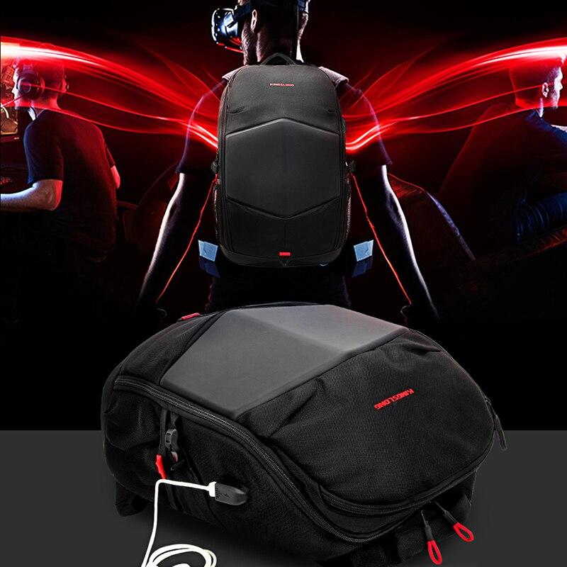 Рюкзак 17,3 дюймов рюкзак для ноутбука USB зарядка высокопрочная непромокаемая деловая дорожная сумка mochila сумки для женщин и мужчин 2018