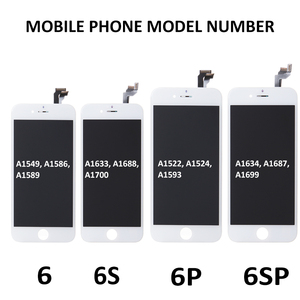 Image 4 - AAA LCD полная сборка для iPhone 6 6S Plus 6SP 6Plus LCD Screeen 3D Force сенсорный дигитайзер сборка дисплей полная замена