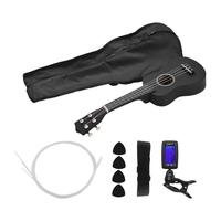 6PCS/Set Ukelele 21Ukulele Acoustic Ukelele with Ukulele Bag Performance Props Musical Instrument Set