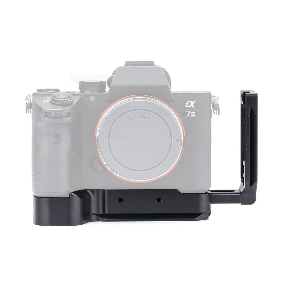 BEESCLOVER Quick Release L Plate Bracket For Sony A7M3 A7R3 L Bracket For Sony A7III/A7RIII/A9 Quick Release Baseplate R29