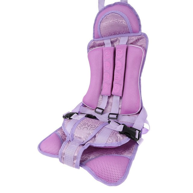 Portable Baby Safety Seat Updated Version Adjustable Chairs Harness Pad Cushion for Children Toddlers Mat Kids Safe Seats