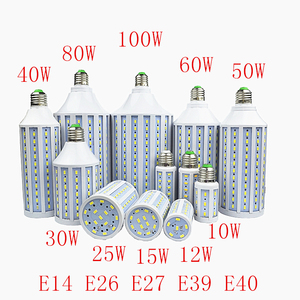 Special Offer LED Lamp 7W 12W 15W 30W 40W 50W 60W 80W 100W 5730SMD E27 E40 E26 B22 220V Corn Bulb Pendant Lighting Ceiling Light