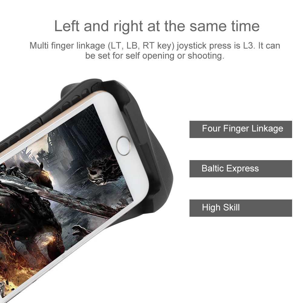 Беспроводной Bluetooth удобный геймпад игровой контроллер для Android телефона/ТВ/планшета/компьютера Горячая продажа