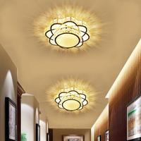 Fashion Living Room Led Crystal Ceiling Lights Gold Led Lamps High power Led Bedroom Ceiling Lamps Led Lustre Light Ceiling Lamp