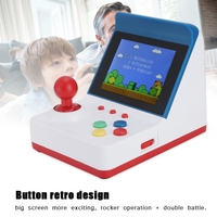 3in A6 FC Portable Retro Mini Handheld Game With 2 Handles for 360 Game Video Games Hot