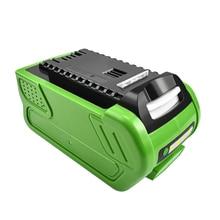 Bonacell 40 V 6000 mAh Перезаряжаемые Замена Батарея для Creabest 40 V 200 W GreenWorks 29462 29472 22272 G-MAX GMAX L10