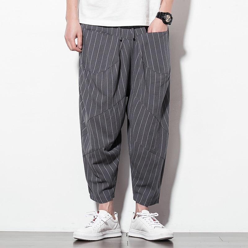 Trousers Men Pants Joggers Streetwear Dance-Sweatpants Hip-Hop Male Haren New