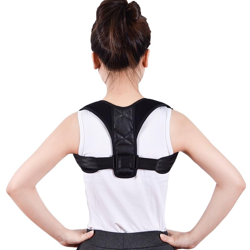 Correcteur de Posture arrière réglable clavicule dos épaule lombaire Posture Correction ceinture adultes dos orthèse ceinture de soutien | AliExpress