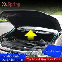 For 2013 2015 2016 2018 2019 Mitsubishi Outlander Car Lift Supporting Hydraulic rod Strut Bars Spring Shock Absorber Bracket