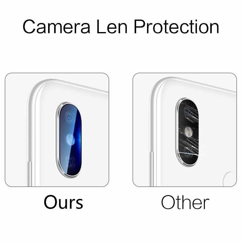 2 шт. 21D Защитная пленка для задней камеры протектор из закаленного стекла для Xiaomi mi Play Red mi Note 6 6a 7 5 Pro S2 mi x 2s 3 для Pocophone F1