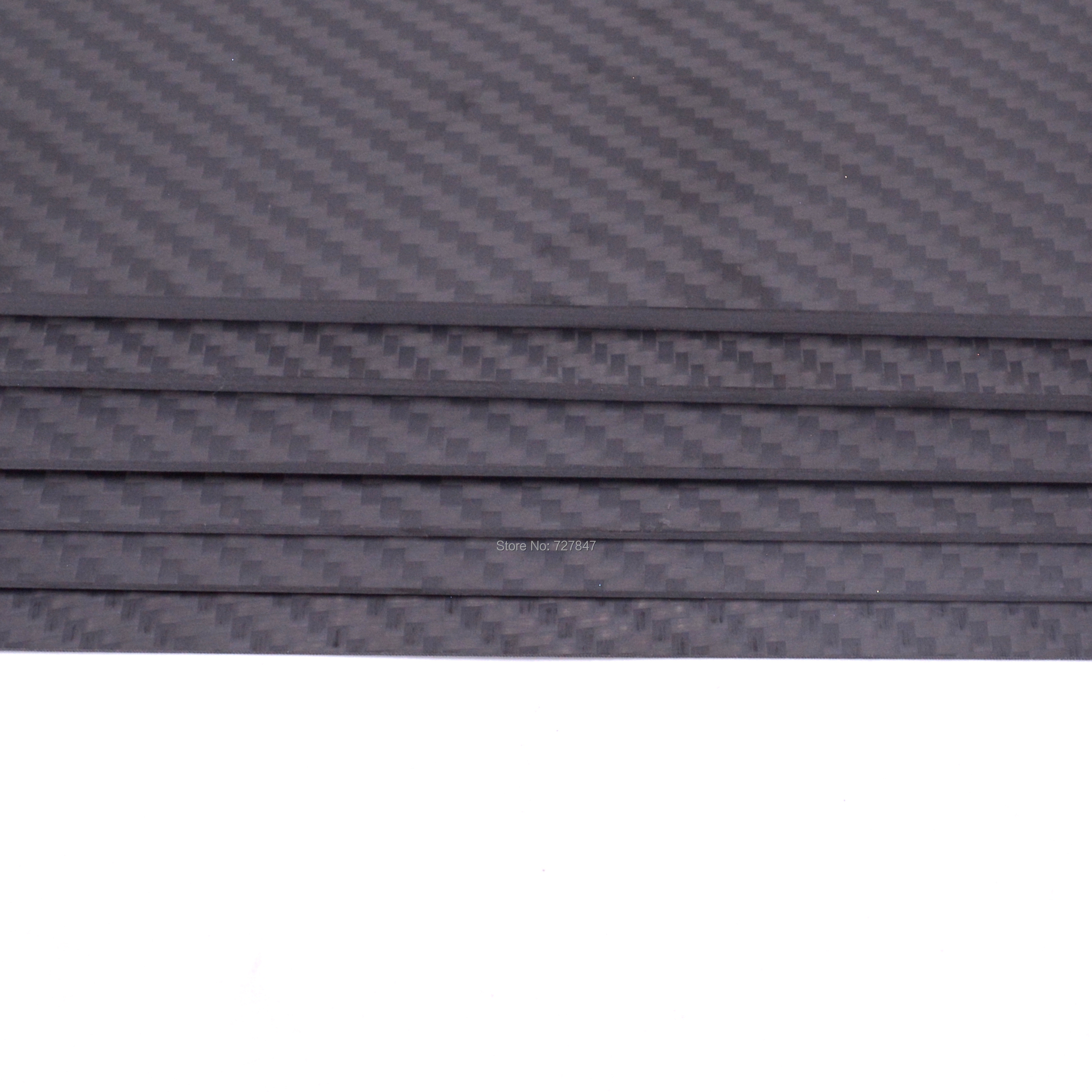 Image 3 - 400mm X 200mm Real Carbon Fiber Plate Panel Sheets 0.5mm 1mm 1.5mm 2mm 3mm 4mm 5mm thickness Composite Hardness Material-in Parts & Accessories from Toys & Hobbies