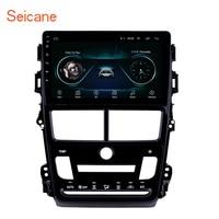 Seicane 9 Android 8,1 радио gps Navigition для 2018 Toyota Vios автоматический кондиционер 8 core Поддержка видеорегистратор заднего Камера Wi Fi