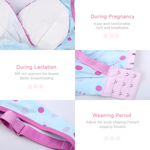 Wireless Sleepwear Maternity Bra & Panty