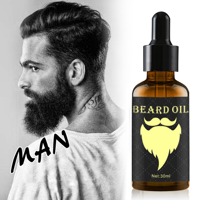100% Natural 30ML Accelerate Facial Hair Grow Beard Essential Oil Hair and Beard Growth Oil Men
