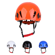 Outdoor Rock Climbing Downhill Helmet Speleology Mountain Rescue Equipment to Expand Safety Rappelling Caving Working Helmet xinda outdoor adjustable helmet climbing equipment expand helmet hole rescue mountain climbing helmet protective safety helmet