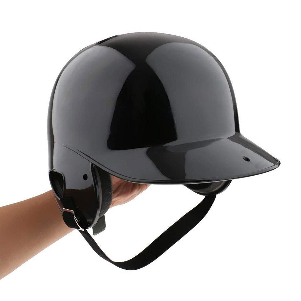 Mounchain Unisex Breathable Helmet Double Ears Protection Baseball Helmet Head Guard For Baseball Sports 21.65-23.62 Inches