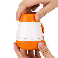 Smart Music White Noise Voice Sensor Rechargeable Baby Infants Therapy Sound Machine Sleep Soother Portable(China)