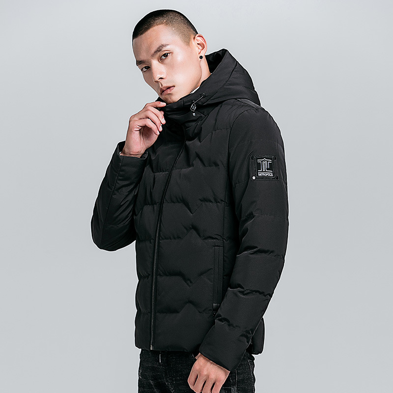 coat Style gris Coupe Abrigo Chauds Nouveau Hombre Noir Hommes ColChapeauPainVêtementsLoisirs De vert vent 2018 L'hiver Vêtements Et Vente Trench PuXkiZ