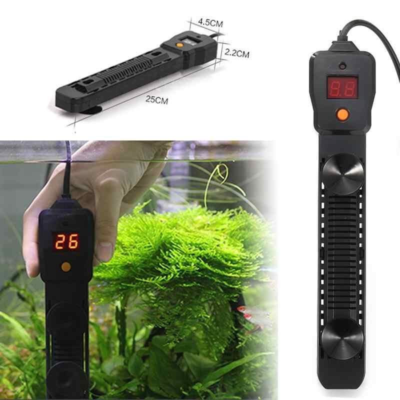 Aquarium Submersible Heater 300/500W Fish Tank LCD Display Digital Adjustable Water Heater Rod Temperature Control Supplies Tool