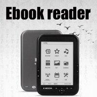 CLATE 6 Ebook Reader e ink Capacitive E Book Light Eink Screen E Book E ink E Reader MP3, WMA PDF HTML