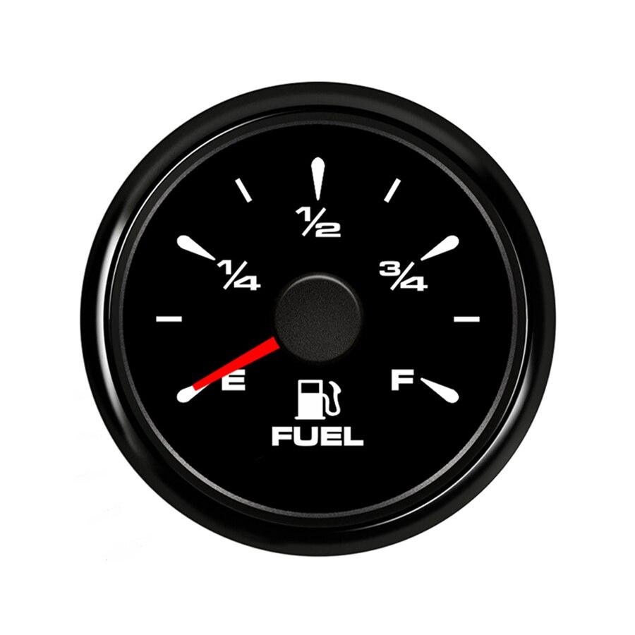 Universal 52mm Pointer Fuel Level Gauges E-F Fuel Level Meters 0-190ohm 240-33ohm Waterproof Fuel Gauges for Auto BoatUniversal 52mm Pointer Fuel Level Gauges E-F Fuel Level Meters 0-190ohm 240-33ohm Waterproof Fuel Gauges for Auto Boat