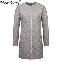 NewBang Brand Ultra Light Down Jacket Women Duck Do