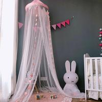 2019 new baby Triangular lace crib Baby Mosquito Net sandfly netting for stroller children Crib Netting baby room decoration