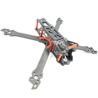 AlfaRC Fighter 230mm 260mm 290mm 5/6/7 Inch Carbon Fiber FPV Freestyle Stretch X Frame Kit for RC Drone FPV Quadcopter Parts
