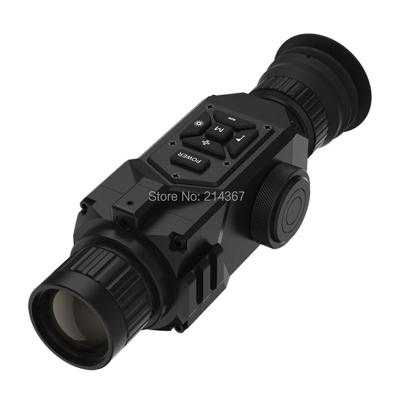 Portée de fusil de Vision nocturne d'imagerie thermique de gamme 1000 M avec monoculaires de Vision nocturne d'imagerie thermique de télémètre Laser