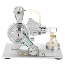 Low Temperature Stirling Engine Motor Model Heat Steam Education DIY Toys For Child Kid Craft Ornament Discovery Toy Gift
